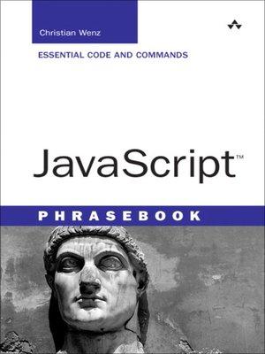 cover image of Javascript Phrasebook