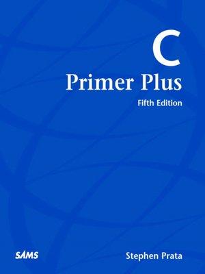 cover image of C Primer Plus
