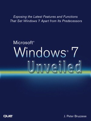 cover image of Microsoft® Windows® 7 Unveiled