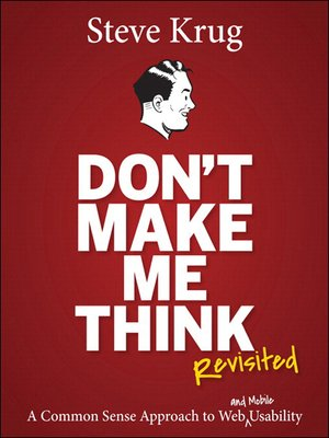cover image of Don't Make Me Think, Revisited