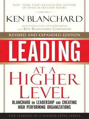 cover image of Leading at a Higher Level
