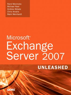 cover image of Microsoft® Exchange Server 2007 Unleashed