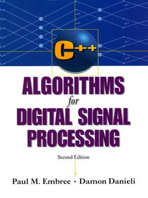 cover image of C++ Algorithms for Digital Signal Processing