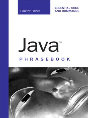 cover image of Java Phrasebook