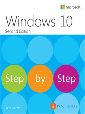 cover image of Windows 10 Step by Step
