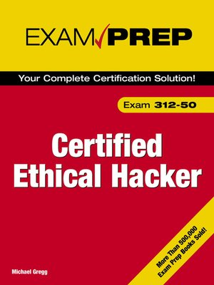 cover image of Certified Ethical Hacker Exam Prep