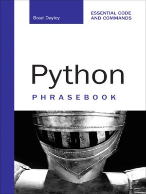 cover image of Python Phrasebook