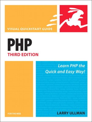 cover image of PHP for the Web