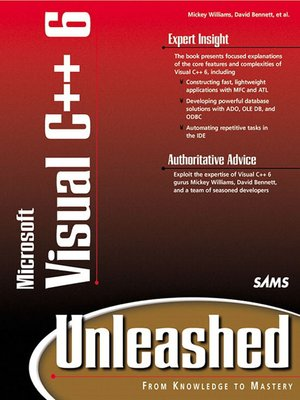 cover image of Visual C++ 6 Unleashed
