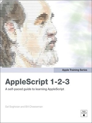 cover image of AppleScript 1-2-3