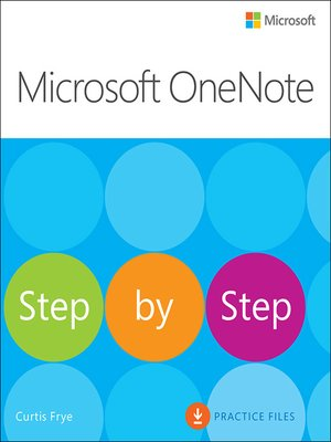 cover image of Microsoft OneNote Step by Step