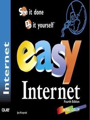 cover image of Easy Internet, Fourth Edition