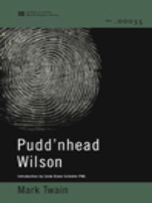 cover image of Pudd'nhead Wilson (World Digital Library Edition)