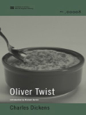 cover image of Oliver Twist (World Digital Library Edition)