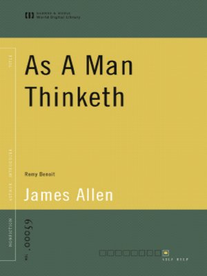 cover image of As A Man Thinketh (World Digital Library Edition)