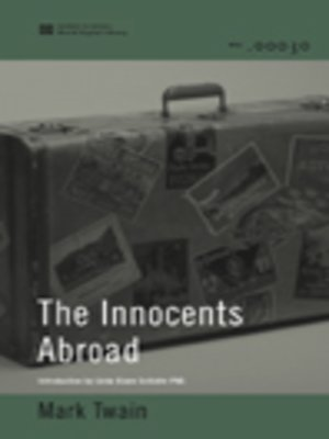 cover image of The Innocents Abroad (World Digital Library)