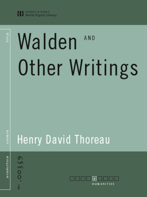 cover image of Walden and Other Writings (World Digital Library Edition)