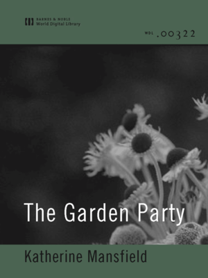 cover image of The Garden Party (World Digital Library Edition)