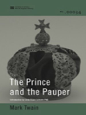 cover image of The Prince and the Pauper (World Digital Library Edition)