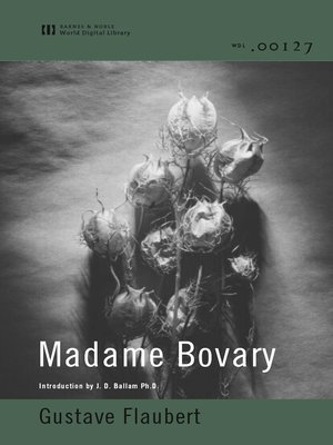 cover image of Madame Bovary (World Digital Library)