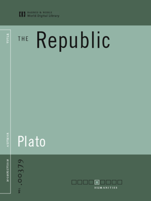 cover image of The Republic (World Digital Library Edition)