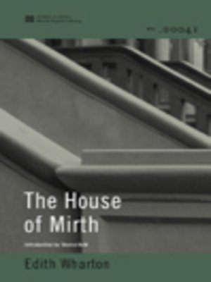 cover image of The House of Mirth (World Digital Library Edition)