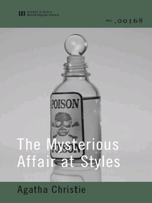 cover image of The Mysterious Affair at Styles (World Digital Library Edition)