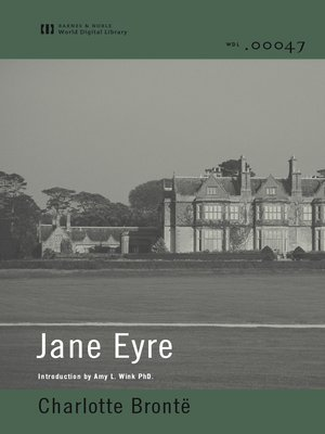 cover image of Jane Eyre (World Digital Library Edition)