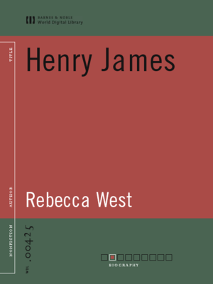 cover image of Henry James (World Digital Library Edition)