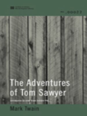cover image of The Adventures of Tom Sawyer (World Digital Library Edition)