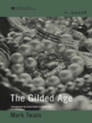 cover image of The Gilded Age (World Digital Library Edition)