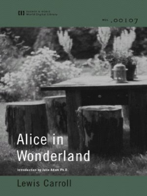 cover image of Alice in Wonderland (World Digital Library Edition)