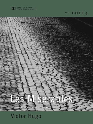 cover image of Les Miserables (World Digital Library Edition)