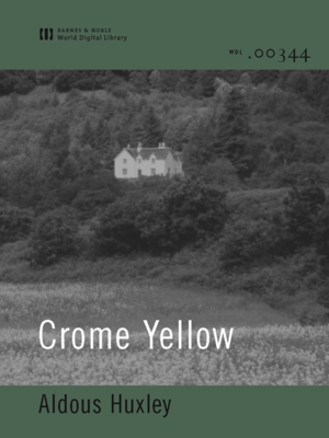 cover image of Crome Yellow (World Digital Library Edition)