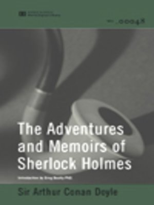 cover image of Adventures and Memoirs of Sherlock Holmes (World Digital Library Edition)