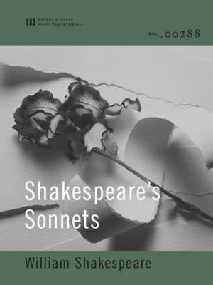 cover image of Shakespeare's Sonnets (World Digital Library Edition)