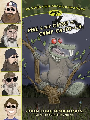 cover image of Phil and the Ghost of Camp Ch-Yo-Ca