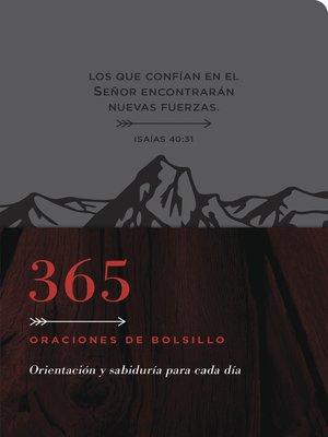 cover image of 365 oraciones de bolsillo