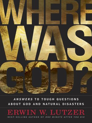 cover image of Where Was God?