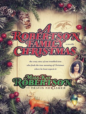cover image of A Robertson Family Christmas