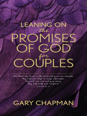 cover image of Leaning on the Promises of God for Couples