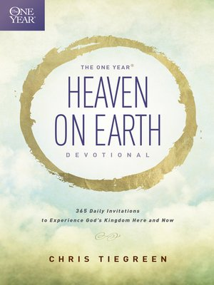 cover image of The One Year Heaven on Earth Devotional