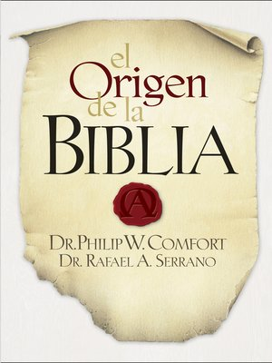 cover image of El Origen de la Biblia