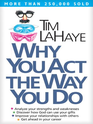 cover image of Why You Act the Way You Do