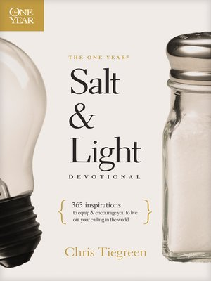 cover image of The One Year Salt and Light Devotional