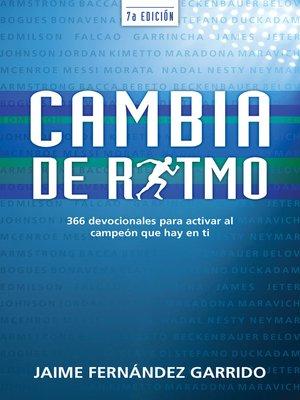 cover image of Cambia de ritmo, séptima edición