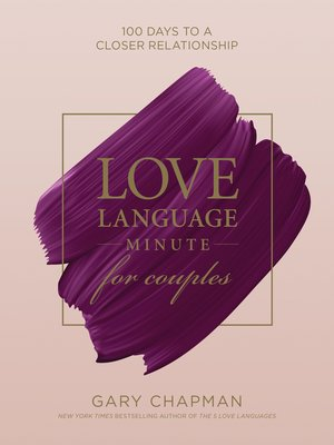 cover image of Love Language Minute for Couples