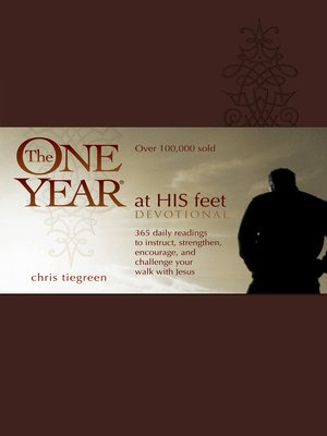 cover image of The One Year At His Feet Devotional