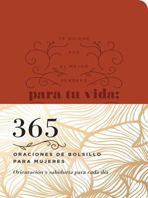 cover image of 365 oraciones de bolsillo para mujeres