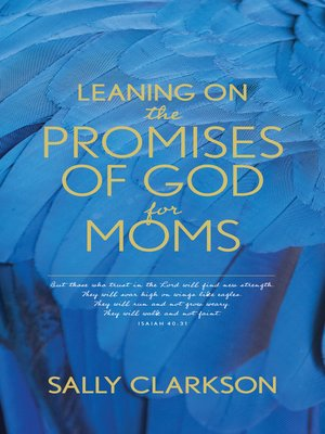 cover image of Leaning on the Promises of God for Moms